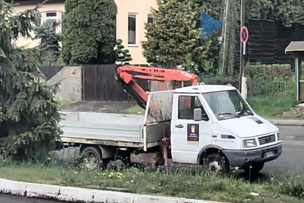 Polícia pátra po tomto vozidle.