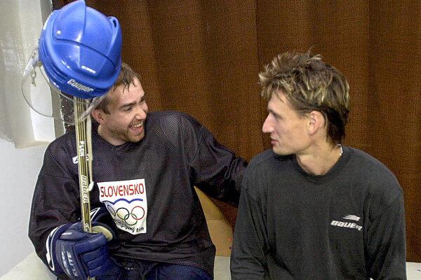 Ľubomír Sekeráš (vpravo) a Žigmund Pálffy.