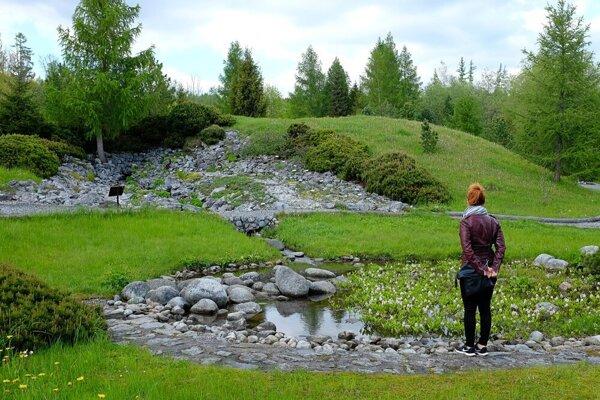 Botanická záhrada v Tatranskej Lomnici.