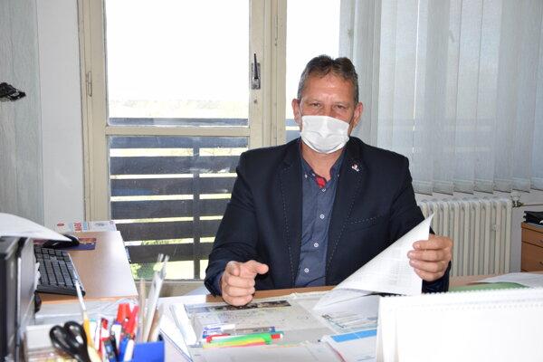 Miroslav Kovalčík, prednosta Okresného úradu v Turčianskych Tepliciach.