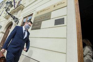Kandidát na post predsedu Najvyššieho súdu SR Ivan Rumana.