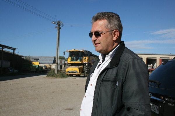 Agropodnikateľ Peter Kováč.