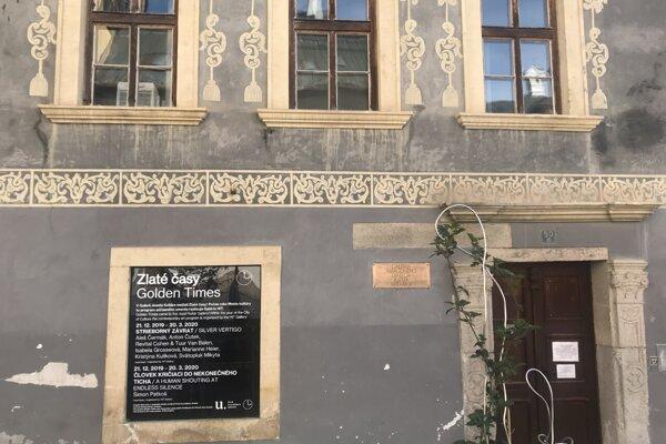Výstava Zlaté časy v Galérii Jozefa Kollára v Banskej Štiavnici.