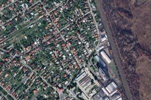 Lokalita, kde malo v Podunajských Biskupiciach vyrásť biznis centrum.
