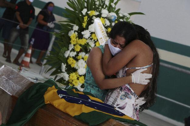 Počet obetí ochorenia COVID-19 presiahol v Brazílii číslo 15-tisíc.