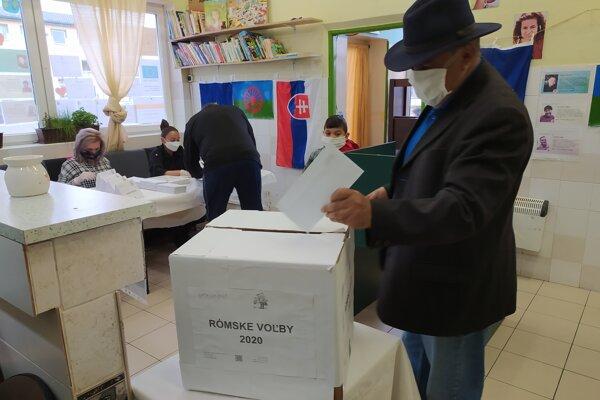 Rómske voľby Prievidza.