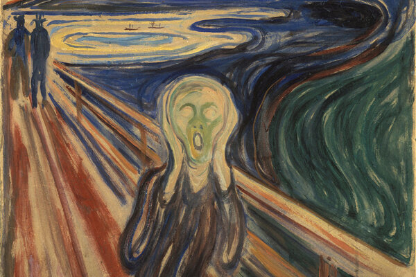 Edvard Munch: Výkrik, verzia z roku 1910