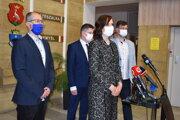 Vicepremiérka Veronika Remišová v Humennom.