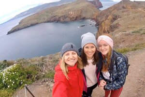 Z výletu na ostrove Madeira.