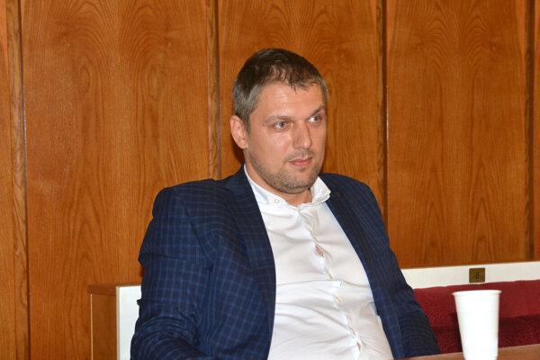 Riaditeľ K13 - Košické kultúrne centrá Tomáš Petraško.