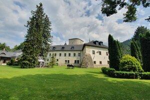 Grand castle Liptovský Hrádok