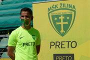 Žilinský klub je v likvidácii a väčšina hráčov A-tímu dostala výpovede. Na snímke Jakub Paur.