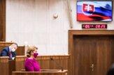 Pozrite si, ako sa prezidentka prihovorila Slovensku a poslancom