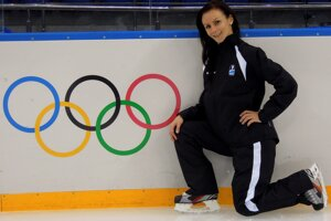 Zúčastnila sa aj olympiády.