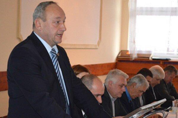 Predseda ObFZ Kysúc Stanislav Špila.