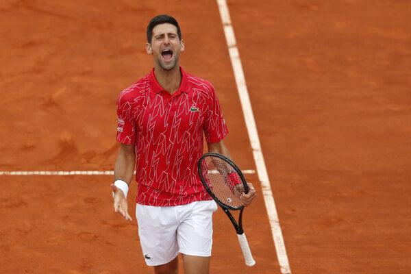 Novak Djokovič na Adria Tour.