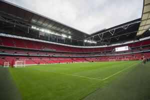 Finále futbalových majstrovstiev sveta sa má hrať na kultovom štadióne Wembley v Londýne.