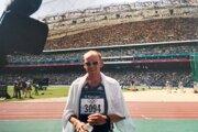 Štefan Malík na Olympijských hrách 2000 vaustrálskom Sydney.