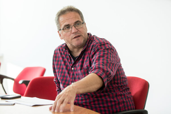 Radovan Bránik, špecialista z Národného krízového klinického tímu ministerstva zdravotníctva.