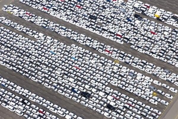 Nové autá nemeckej automobilky Volkswagen. Ilustračné foto.