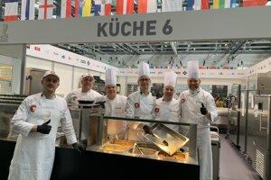 Slovenský tím pre Culinary Olympics.