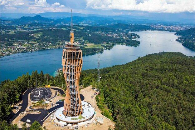 Wörthersee veža Pyramidenkogel