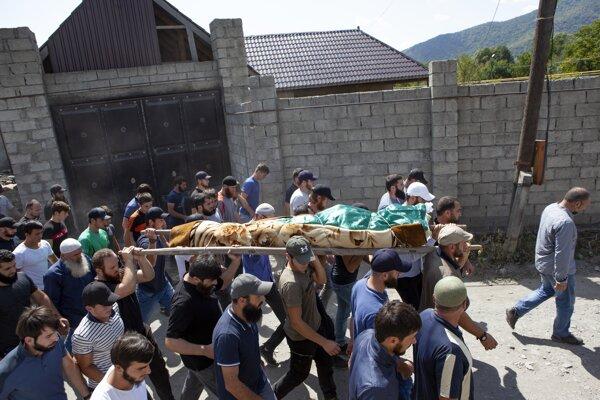 Changošviliho pohreb v Gruzínsku prebehol v lete 2019.