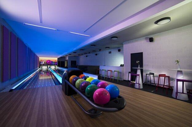 Miesto pre aktívny pobyt, bowling.