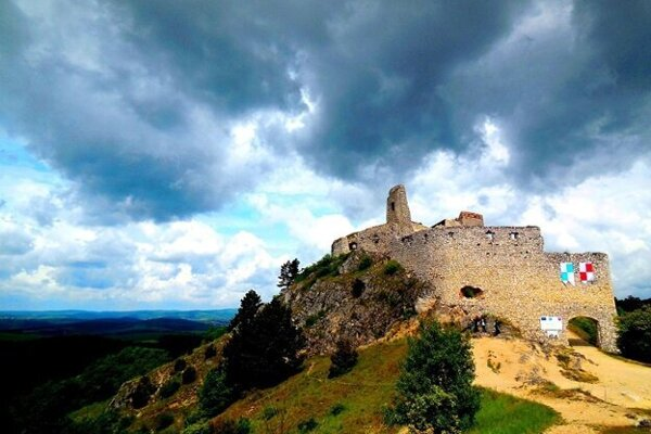 Čachtický hrad.