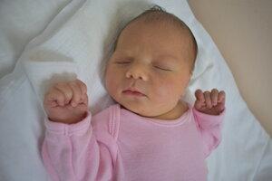 Martina Turanová (3600 g, 52 cm) sa narodila 15. júna Michaele a Martinovi z Trnavy.