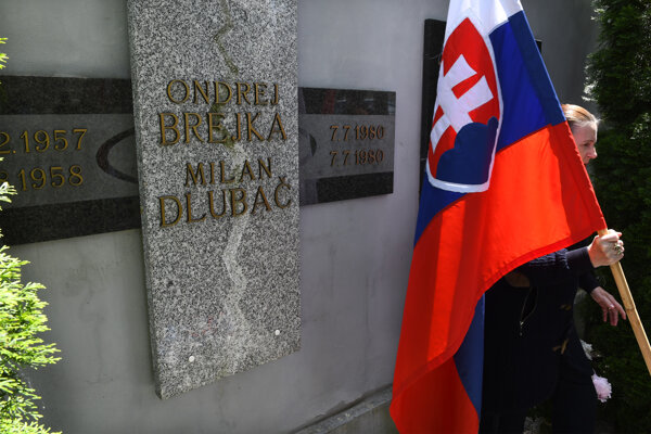 Pamätník je na kežmarskom cintoríne.