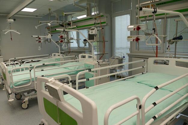 Zrekonštruovaná jednotka intenzívnej starostlivosti traumatologického oddelenia v Kysuckej nemocnici s poliklinikou v Čadci.