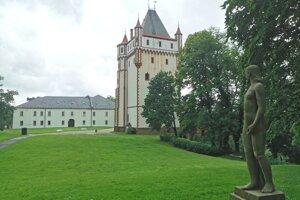 Hradec nad Moravicí - Biely zámok