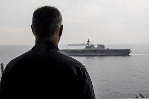 Lietadlová loď USS Ronald Reagan.