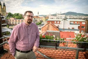 Viceprimátor Nitry Daniel Balko.