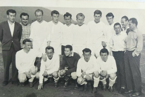 Futbalisti Iľanova roku 1960
