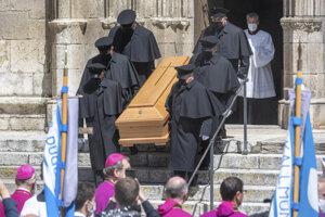 Pohreb Georga Ratzingera.
