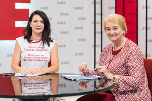 Poslankyne Anna Záborská a Janka Cigániková v relácii Rozhovory ZKH.