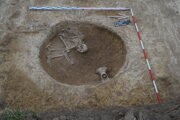 Hrob lengyelskej kultúry z eneolitu.