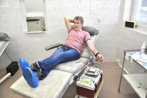 Ružomberská Ústredná vojenská nemocnica má akútny nedostatok krv.