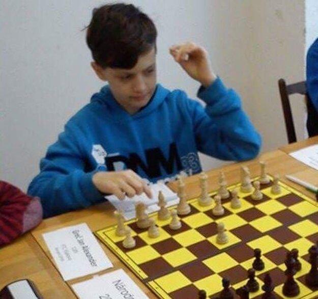 Ján Alexander Gréč na turnaji.