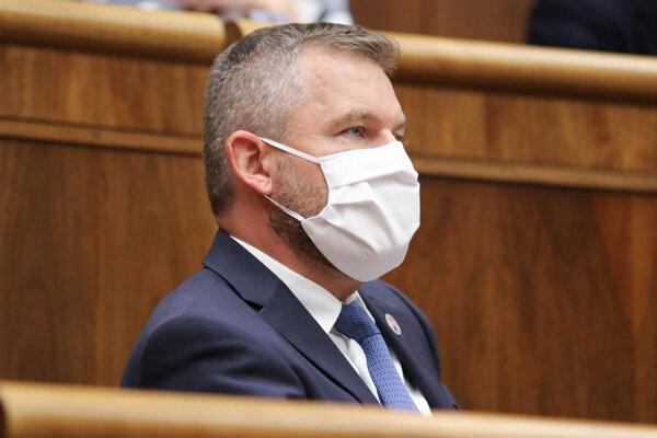Podpredseda parlamentu Peter Pellegrini.