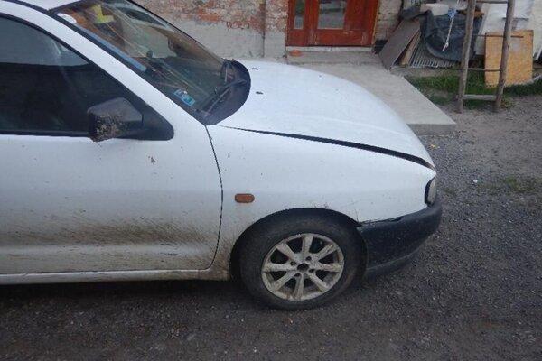 S týmto autom narazil muž ešte v júni, teraz má opäť problém.