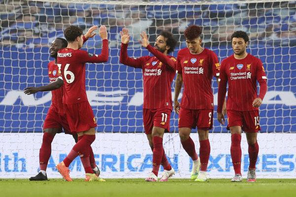 Ilustračná fotografia futbalistov FC Liverpool.