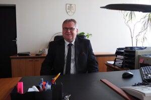 Prednosta Okresného úradu v Prešove František Höger.