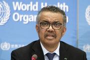 Generálny riaditeľ Svetovej zdravotníckej organizácie (WHO) Tedros Adhanom Ghebreyesus.