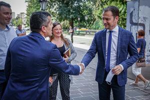Predseda vlády SR Igor Matovič sa v Košiciach stretol so zamestnancami firmy Wirecard.