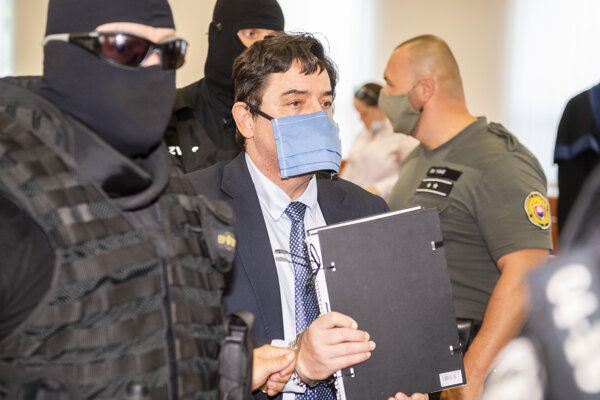 Kočner odchádza z hlavného pojednávania v kauze vraždy novinára Jána Kuciaka a jeho snúbenice Martiny Kušnírovej.