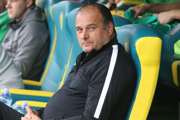 Tréner Žiliny B Norbert Guľa.