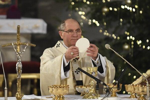 Košický arcibiskup Bernard Bober.